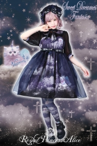 (11)Sweet Dreams Fantasia~甘い夢の幻想曲~ペプラム付きワンピース