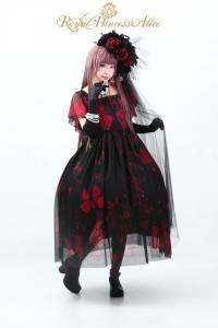 ⑸Gothic Butterflyドレス【ゴシックバタフライドレス】(レッド)