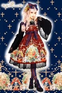⑻Sacred Night Fairy Tale【セイクリットナイトフェアリーテイル】(ボルドー)