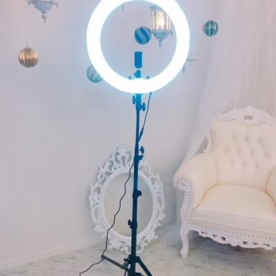 自撮り用ライト1灯